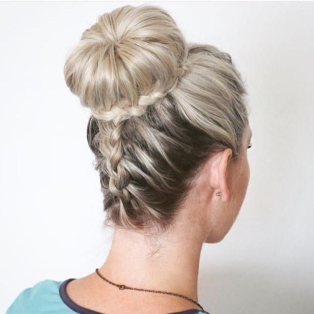Imagenes de peinados con pelo recogido