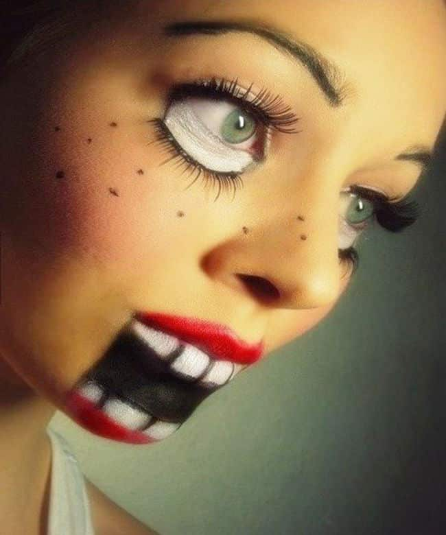 37 ideas de maquillaje para halloween para mujeres paso a paso - Ideas para hacer en halloween ...