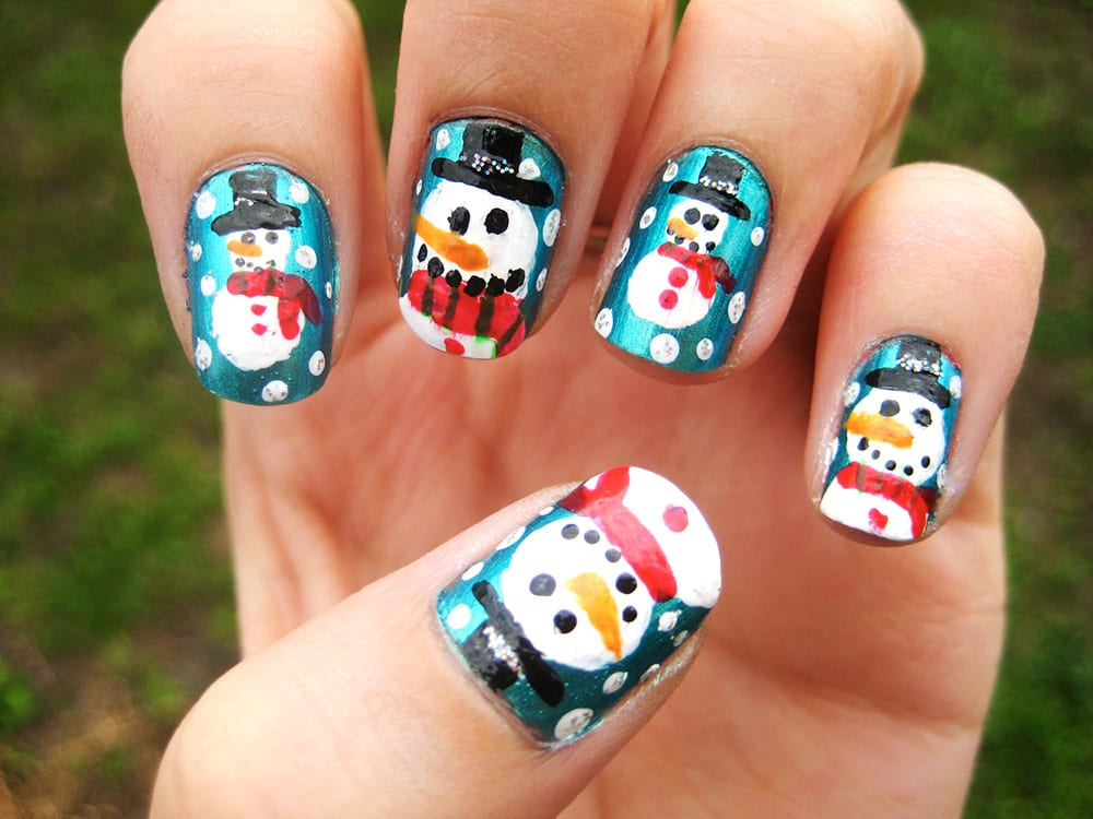 decoracion,unas,de,navidad,2 christmas,nails,2