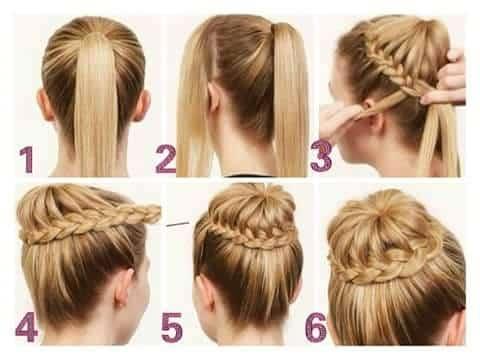 6 pasos para aprender hacer peinados rápidos lacios y trenzados