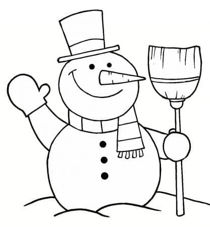 Dibujos de Navidad para colorear 1