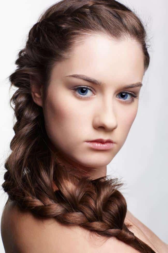 30 ltimas tendencias con peinados de moda f ciles - Fotos peinados de moda ...