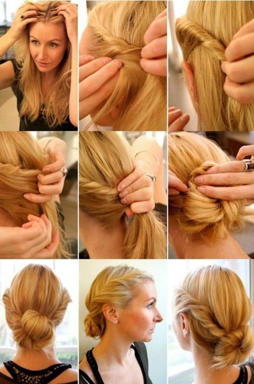 Peinado-de-última-hora-twist-fácil