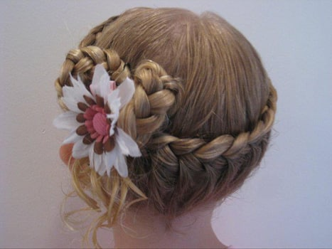 peinados de princesas de nia2 - Peinados De Ninas