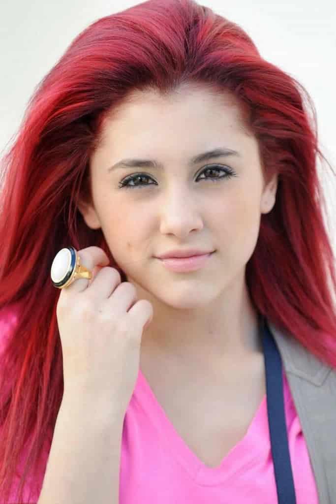 grande chicas cabello rojo