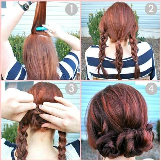 bonitos,peinados sencillos