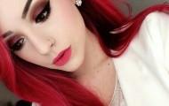 cabello colorado