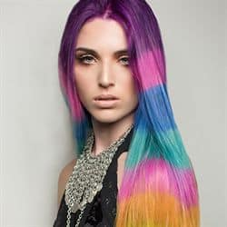 cabello de colores fantasia