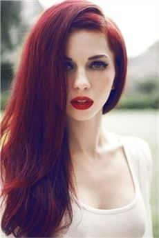 perfiles adulto cabello rojo