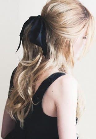 cabello ondulado cintas