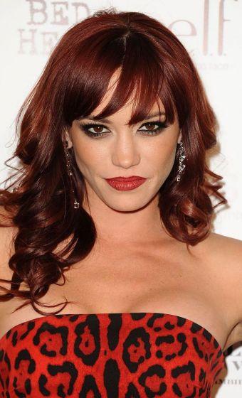 cabello rojo