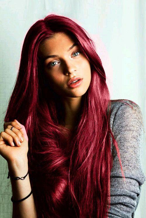 cabello rojo imagen para descargar