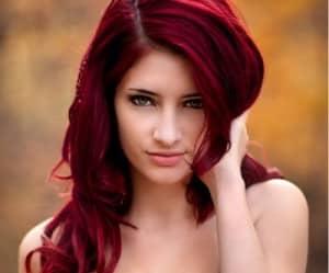 cabello rojo imagen