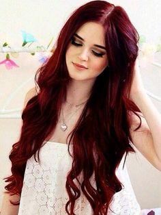 cabello rojo imagenes