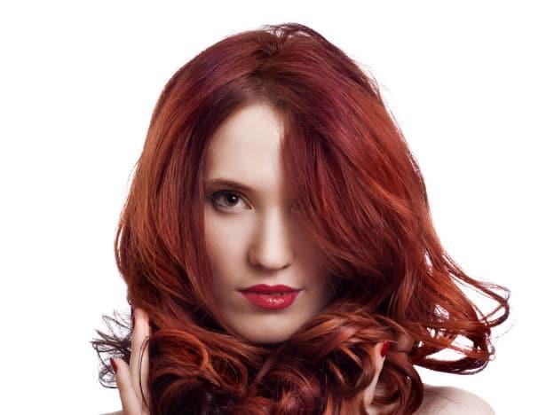 cabello,rojo,tipos