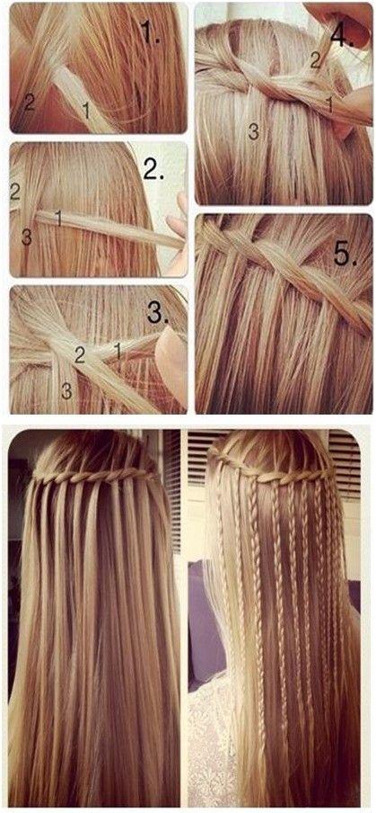 Peinado Cascada Paso A Paso Ideas De Peinado