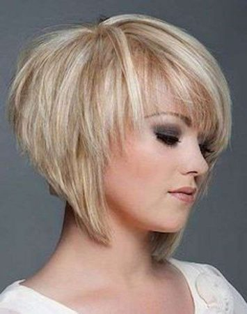 short blond hair cut