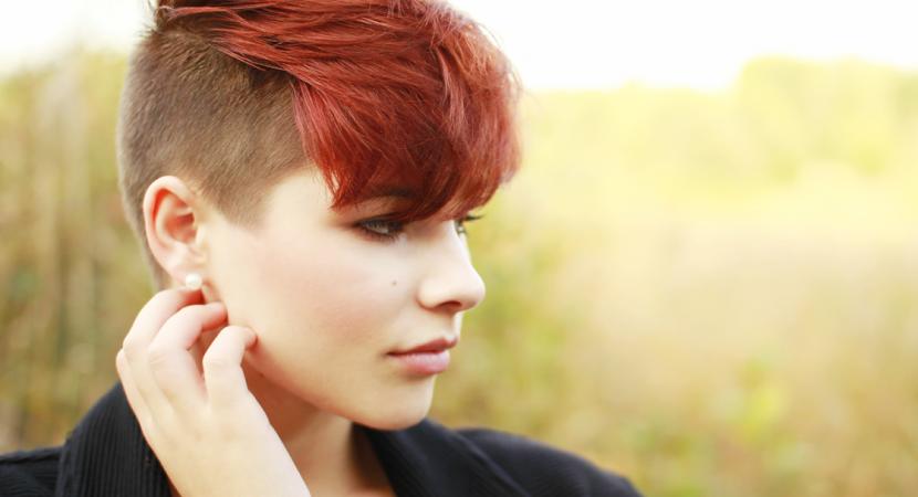 los mejores estilos de cortes de cabello rapado lateral que estn de moda estas famosas se animaron al cambio