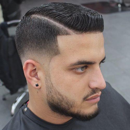 cortes de cabello y barba para hombres 2016