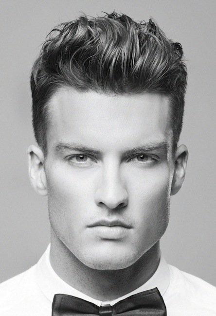 Cortes de cabello semi rapado para hombres