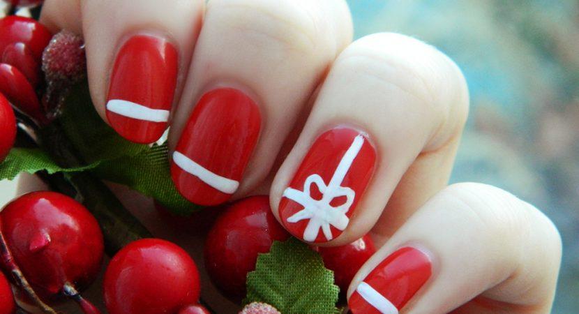Decoración de Uñas Navideñas: 31 ideas de Diseños para Navidad
