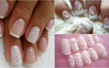 Diseños de uñas decoradas para novias