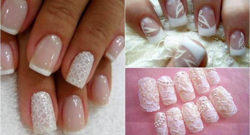 20 ideas de diseños de uñas decoradas para novias que usan en su ...