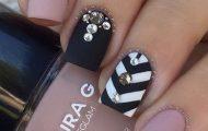 diseños-de-uñas-con-accesorios