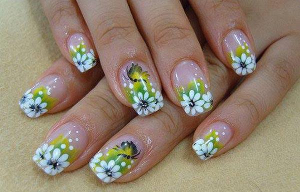 Nail designs glitters