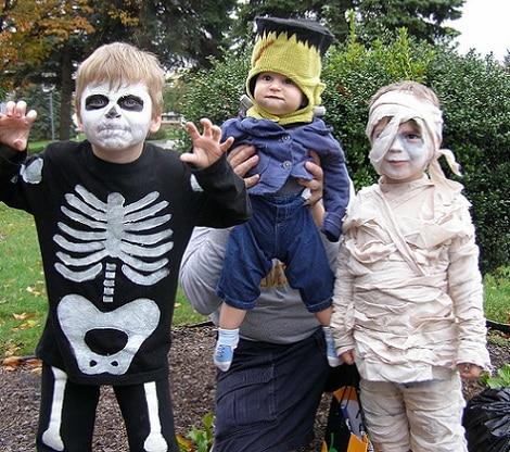 disfraz halloween nino casero