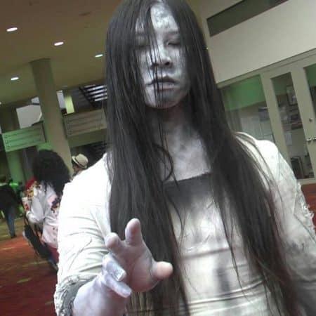 disfraz sadako yamamura halloween