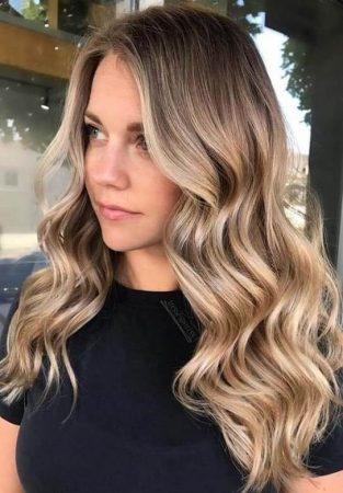hacer ondas cabello largo pinzas