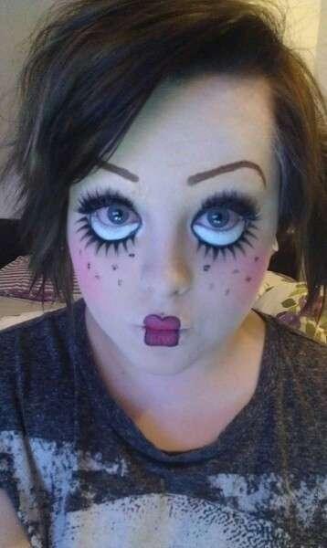 37 ideas de maquillaje para halloween para mujeres paso a paso Maquillaje para ninas halloween