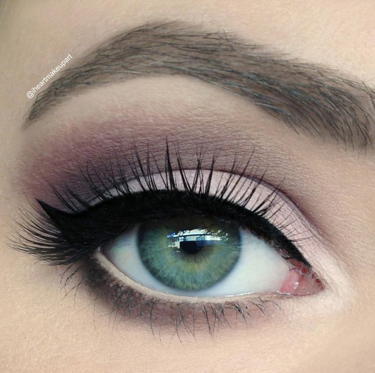 maquillaje de dos colores