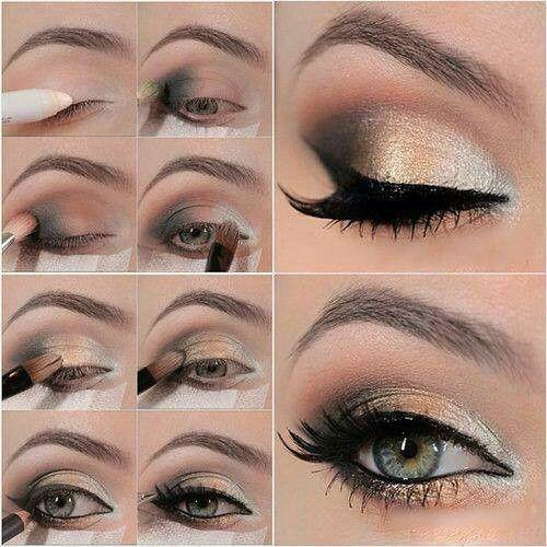 9 Trucos Para Maquillar Tus Ojos Que Realmente Funcionan Mujeres - Pintura-de-ojos-paso-a-paso