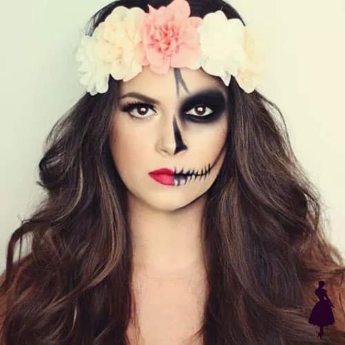37 Ideas de Maquillaje para Halloween para Mujeres Paso a Paso