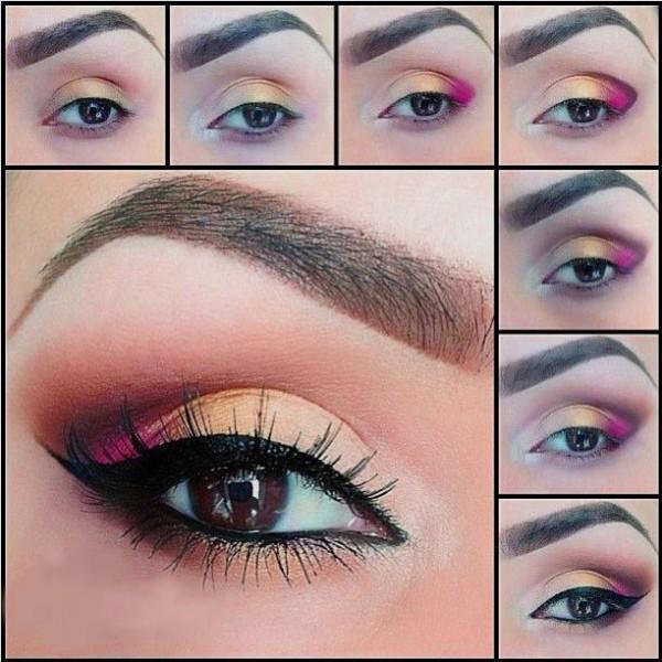 Formas De Pintarse Los Ojos Formas De Pintarse Los Ojos El Color - Paso-a-paso-como-pintarse-los-ojos