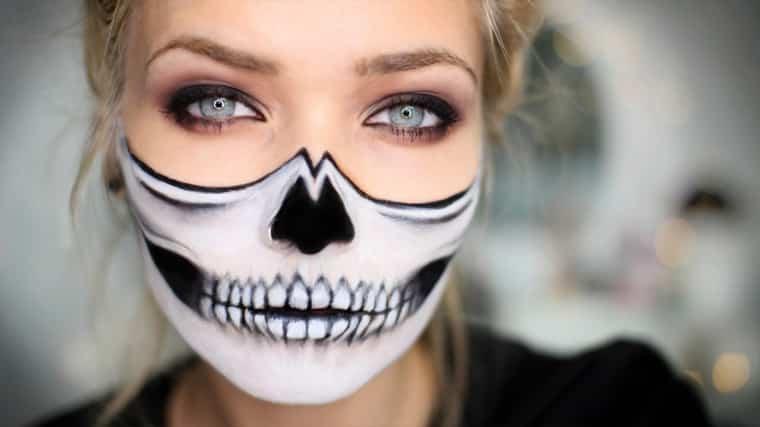 37 Ideas De Maquillaje Para Halloween Para Mujeres Paso A Paso - Maquillaje-zombie-hombre