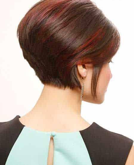 mechas californianas rojas cabellos cortos