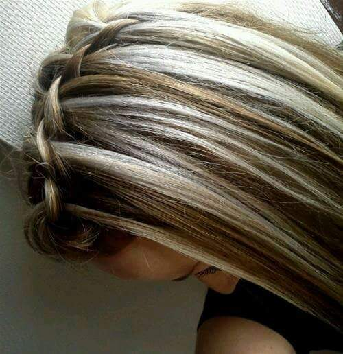 Mechas platinadas en cabello corto 2016