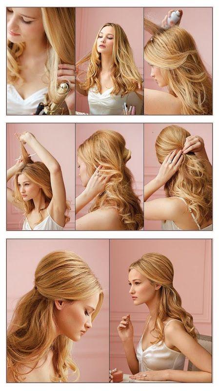 Cómo hacer peinados sencillos para graduación paso a paso
