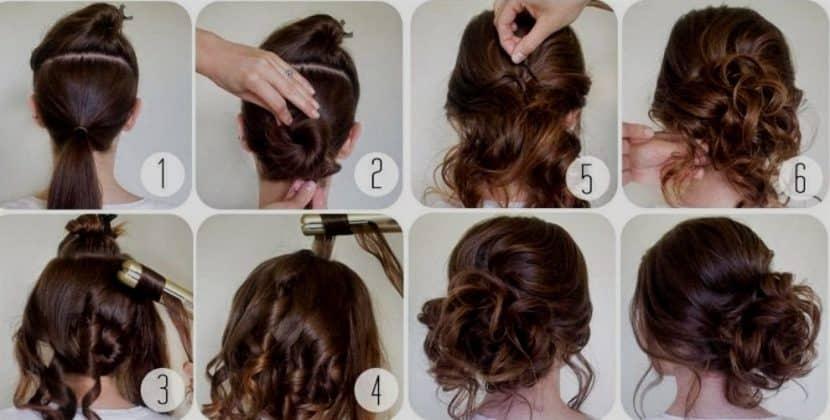 73 peinados recogidos f ciles paso a paso para cabello largo - Peinados faciles recogidos paso a paso ...
