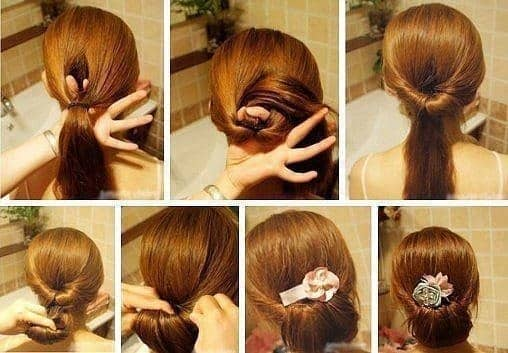 peinado facil para verano