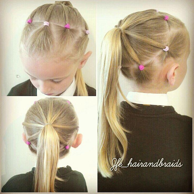 ▷ 37 peinados para niñas con ligas ¡fÁciles y nuevos!