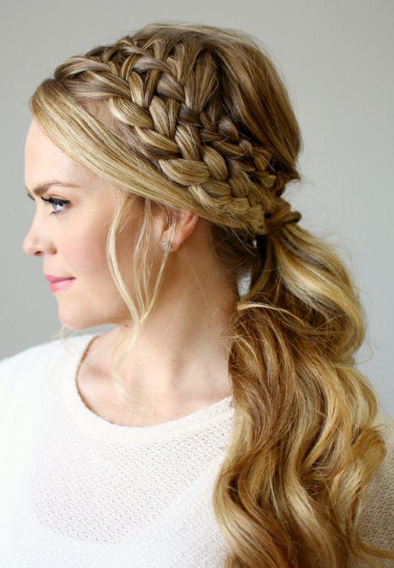 Peinados para mujer semirecogidos