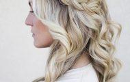 peinado-suelto-para-graduacion-trenza-y-ondas