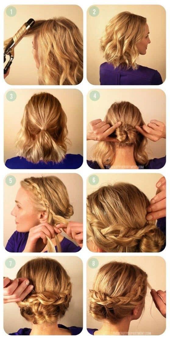 Tutorial de peinados recogidos paso a paso