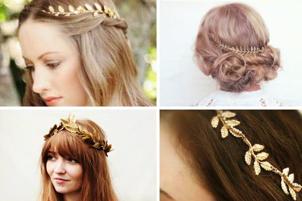 Peinados novia tipo griego