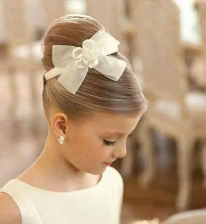 peinados con crepe para ninas