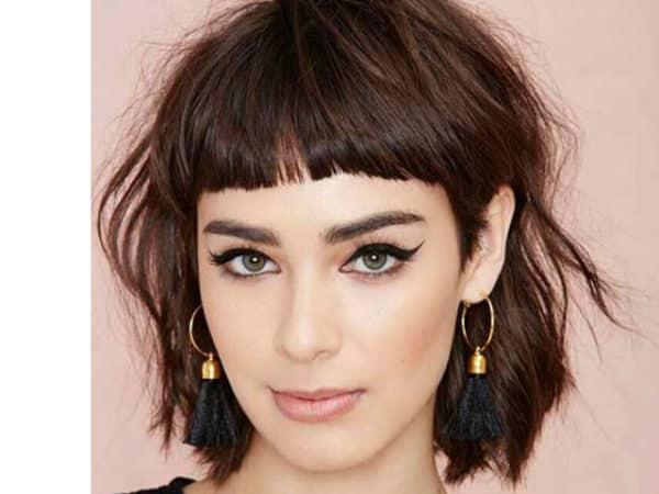 47 peinados con flequillo corte primavera verano 2018 2019 - Peinados melena corta ...